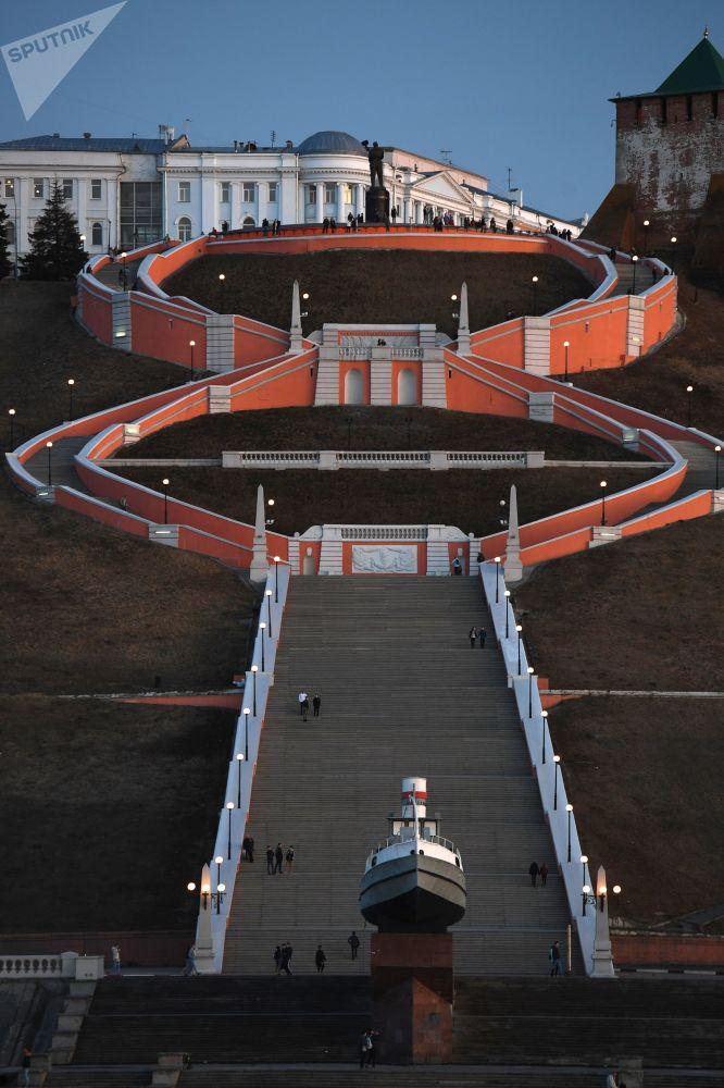 Les villes de la Coupe du Monde: Nijni Novgorod