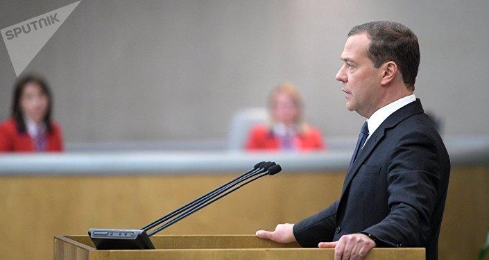 Premier ministre Dmitri Medvedev