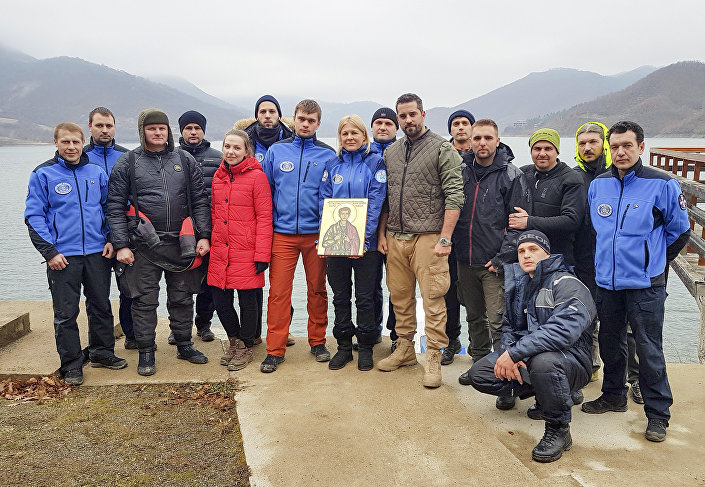 Un premier groupe de spécialistes pétersbourgeois de la Société russe de géographie est arrivé en Serbie