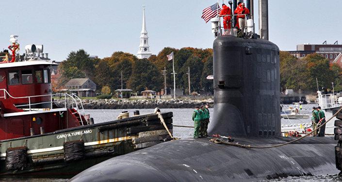 Un sous-marin de classe Virginia