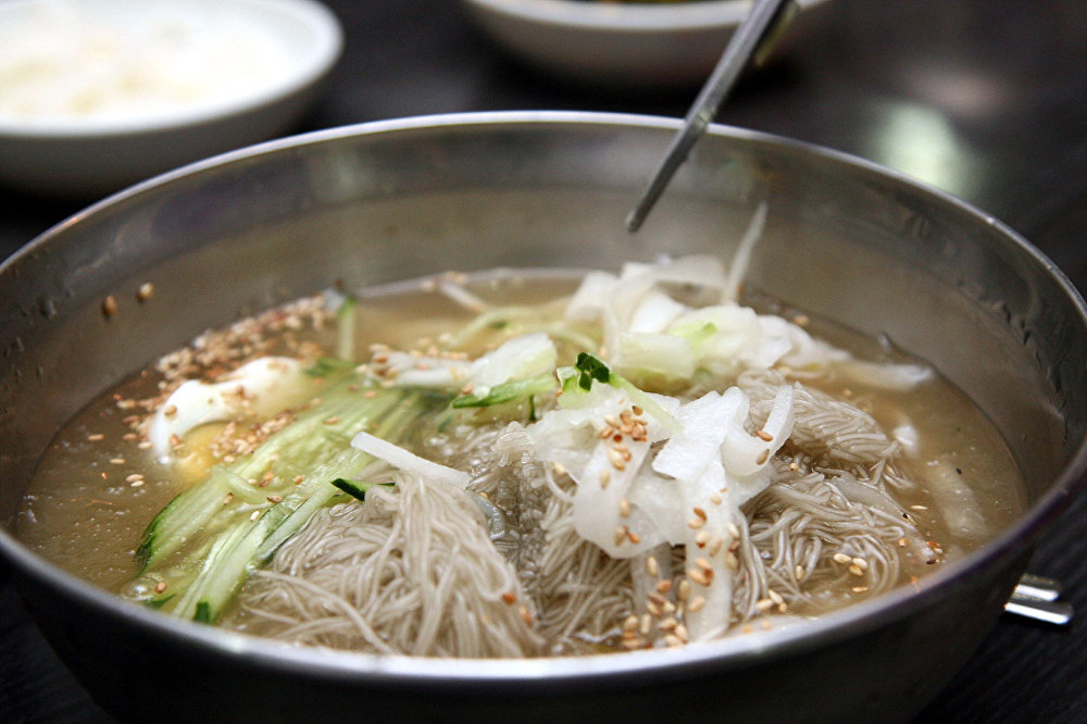 Le naengmyeon