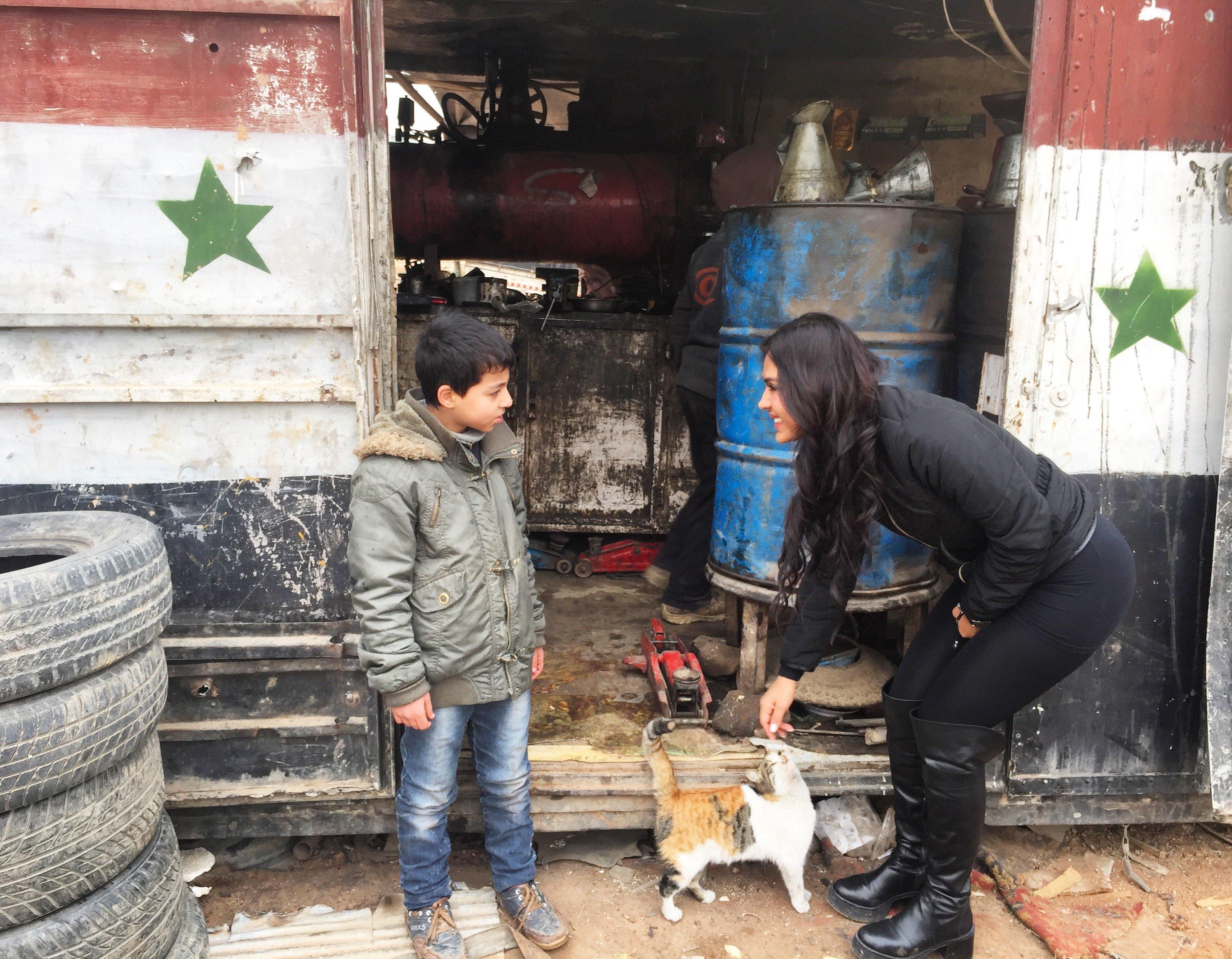Carla Ortiz en Syrie