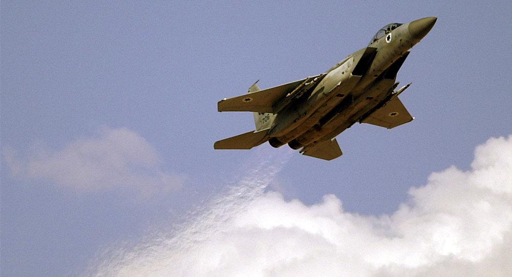 Un avion militaire israélien F-15
