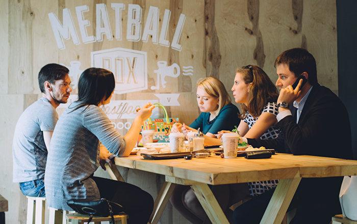 Café Meatball Box