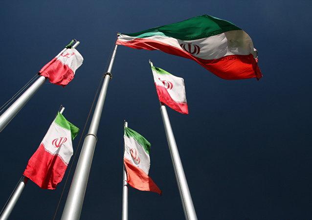 Drapeaux de l'Iran