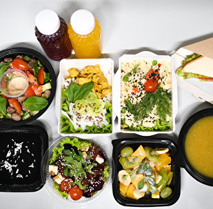 Pack repas diététique chez Fresh Diets, service de livraison de repas à Volgograd