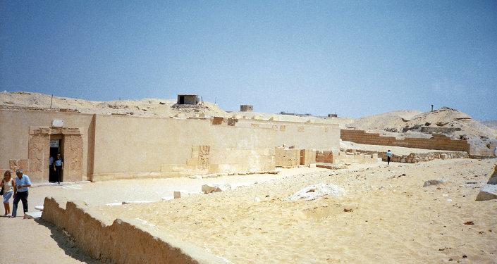 Saqqarah, en Egypte