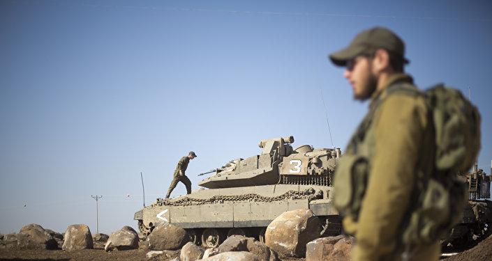 L'armée israélienne sur le plateau du Golan (archiv es)
