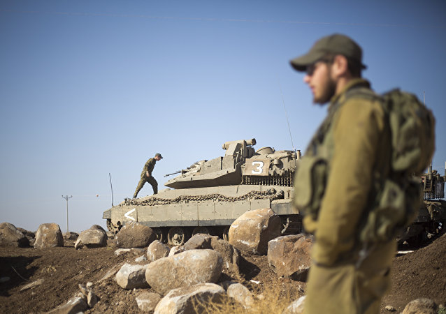 Israels Armee, Golan Höhe (Archiv)
