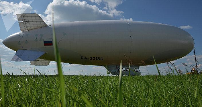 Dirigeable russe AU-30 produit par Avgur