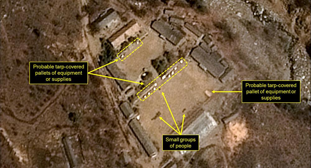 Le polygone d'essais nucléaires nord-coréen de Punggye-ri