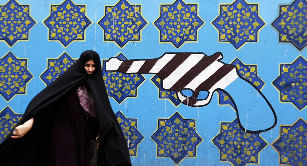 Graffiti à Téhéran
