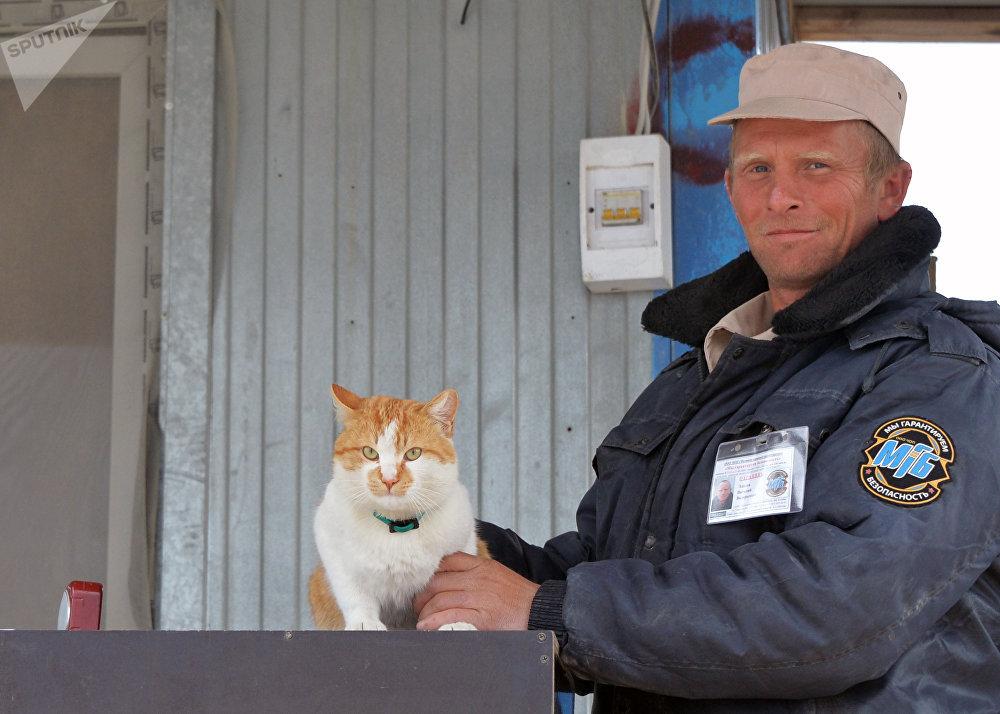 Le chat Mostik