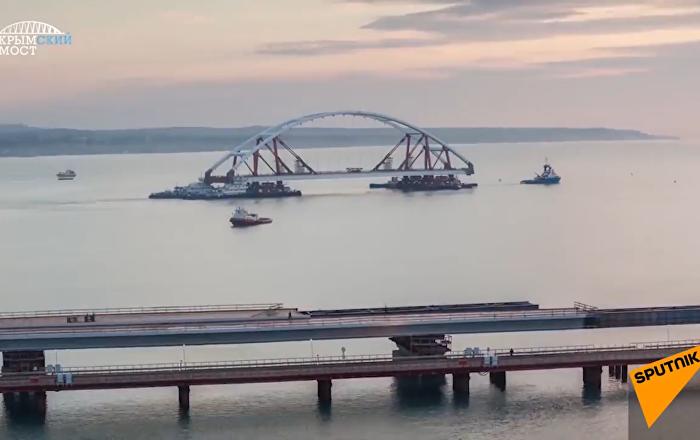 Pont de Crimée: 27 mois de travaux en 2 minutes