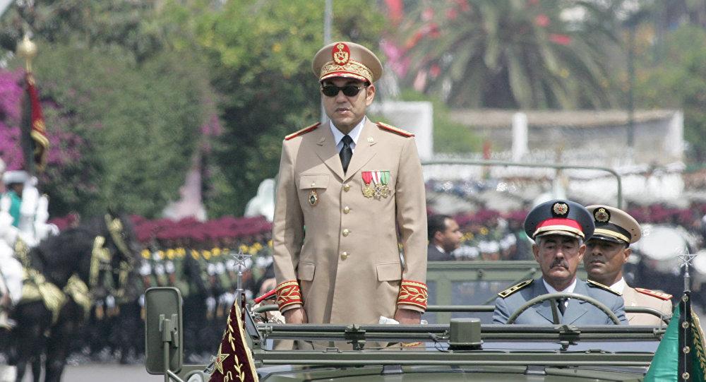 Le roi du Maroc Mohammed VI, Chef Suprême et Chef d'état-major général des Forces armées royales