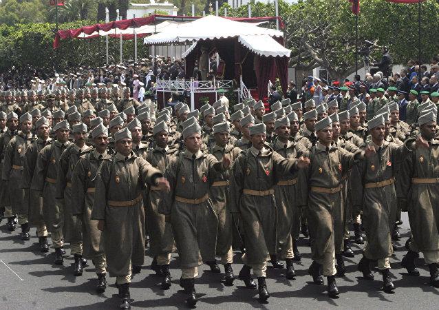 Défilé des Forces armées royales marocaines (FAR)