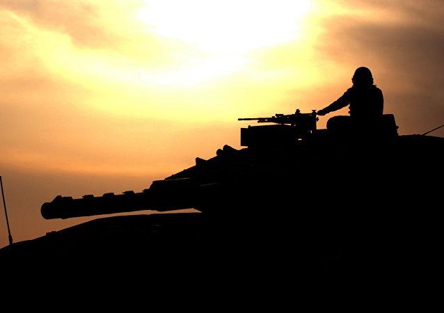 Un char israélien