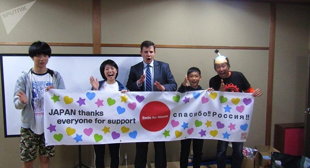 Trois adolescents de la préfecture de Fukushima se rendront au Mondial en Russie