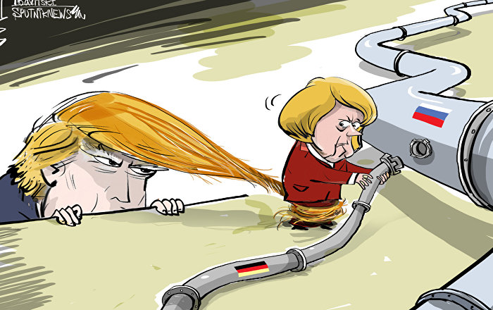 Donald Trump met la pression sur Merkel