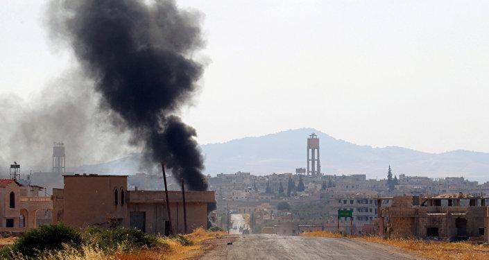 Situation dans la province de Hama