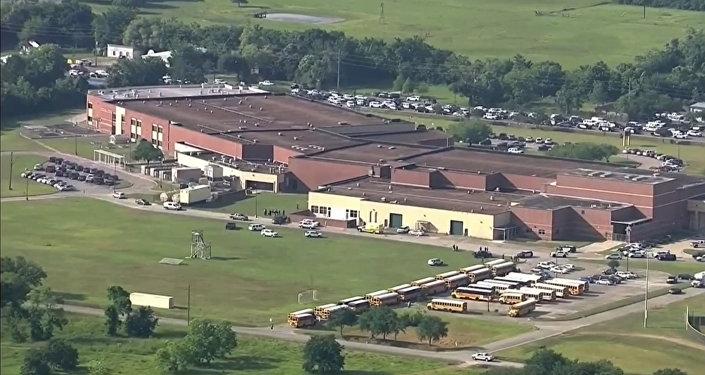 Lycée Santa Fe au Texas
