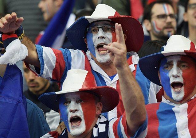 Des supporters français, image d'illustration
