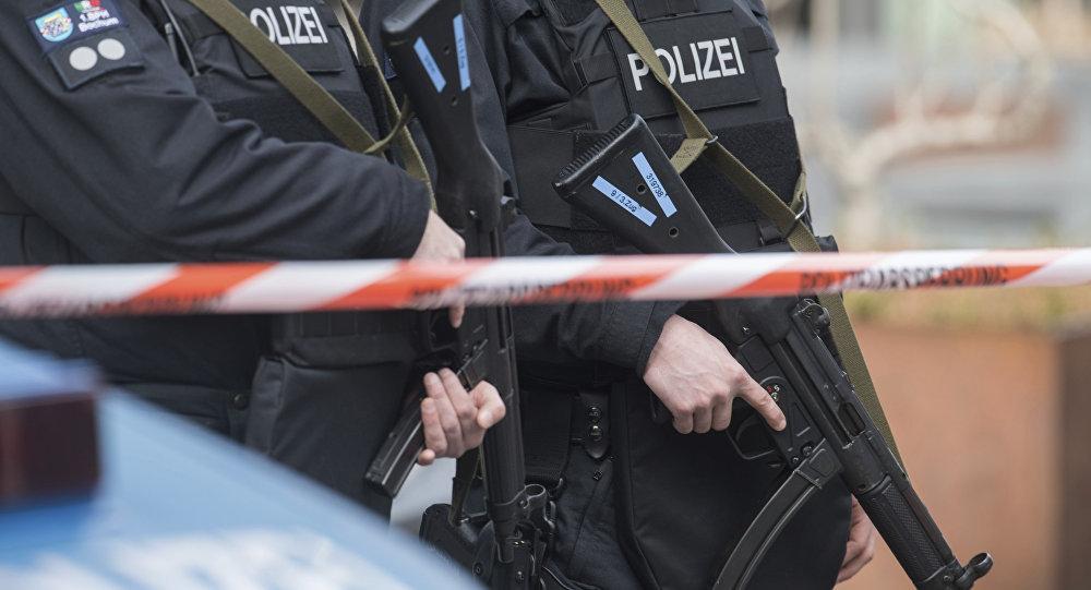 Police allemande / image d'illustration