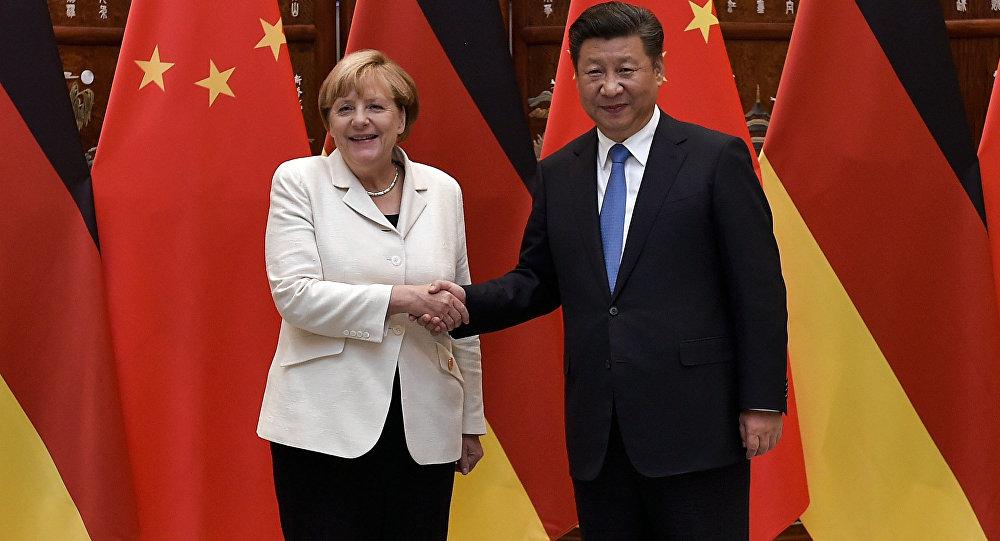 Angela Merkel et Xi Jinping