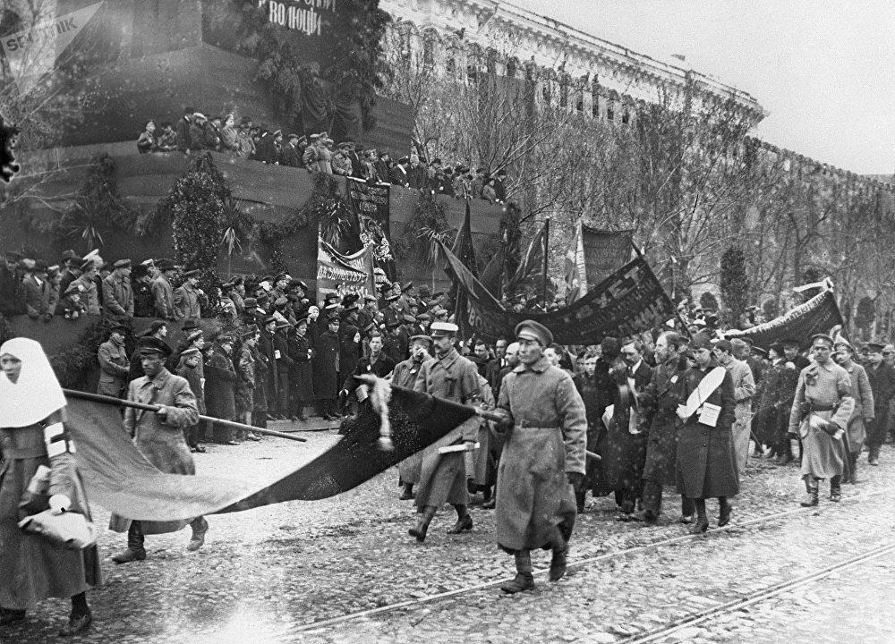 la Place Rouge le 1er mai 1918