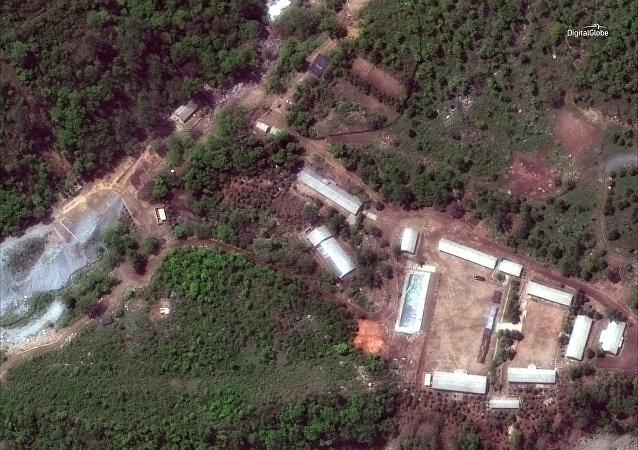 polygone de Punggye-ri