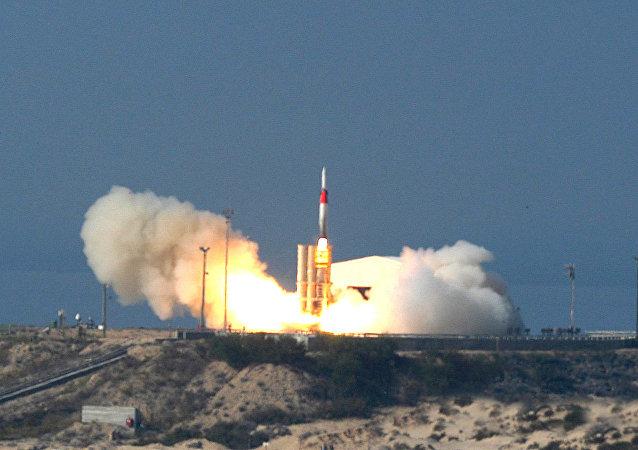 Missile Arrow 3 israélien