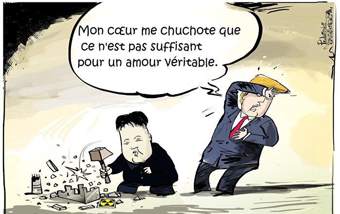 Trump accuse Kim de perturber le sommet