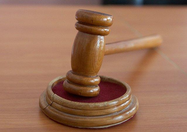 Le maillet du juge
