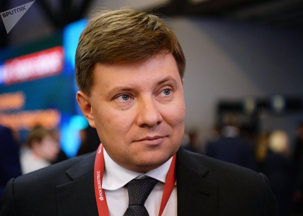 Andreï Boguinski, PDG du holding Hélicoptères de Russie