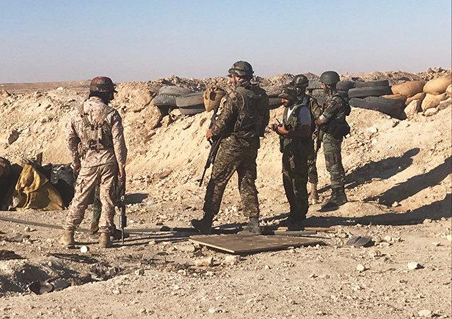 La défense de Deir ez-Zor