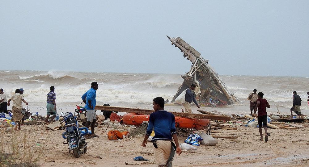 Les conséquences du cyclone Mekunu sur l'île yéménite de Socotra