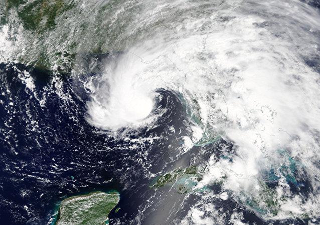 La tempête subtropicale Alberto