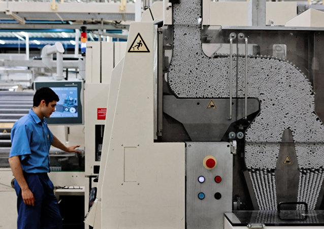 Une usine de Philip Morris en Russie