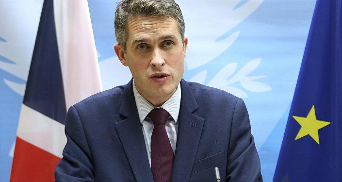 Secrétaire d'État à la Défense du Royaume-Uni Gavin Williamson