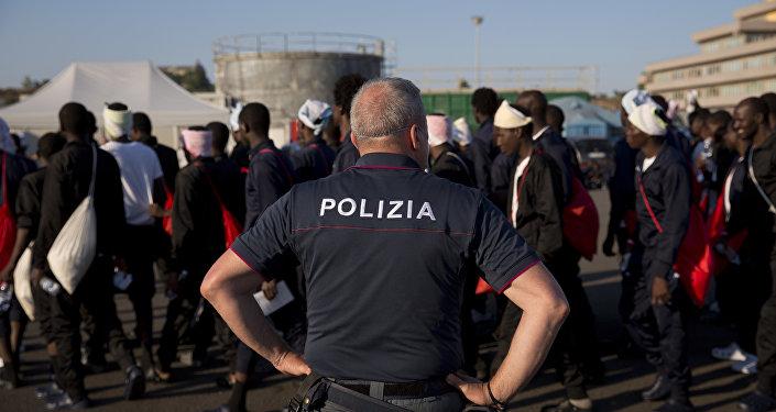 Migrants en Italie
