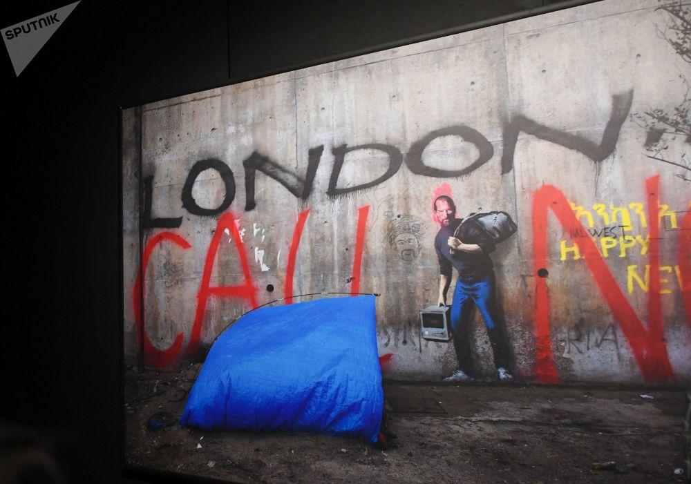 Génie ou vandale: exposition de Banksy à Moscou