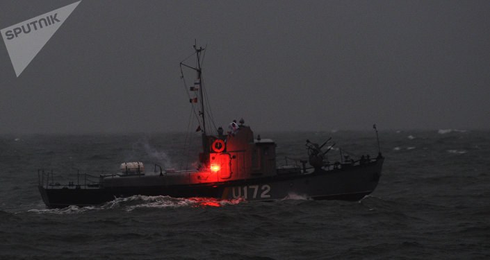 Un bateau ukrainien