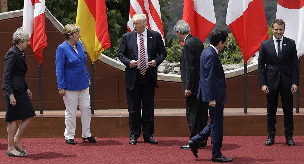 Des leaders des pays membres du G7