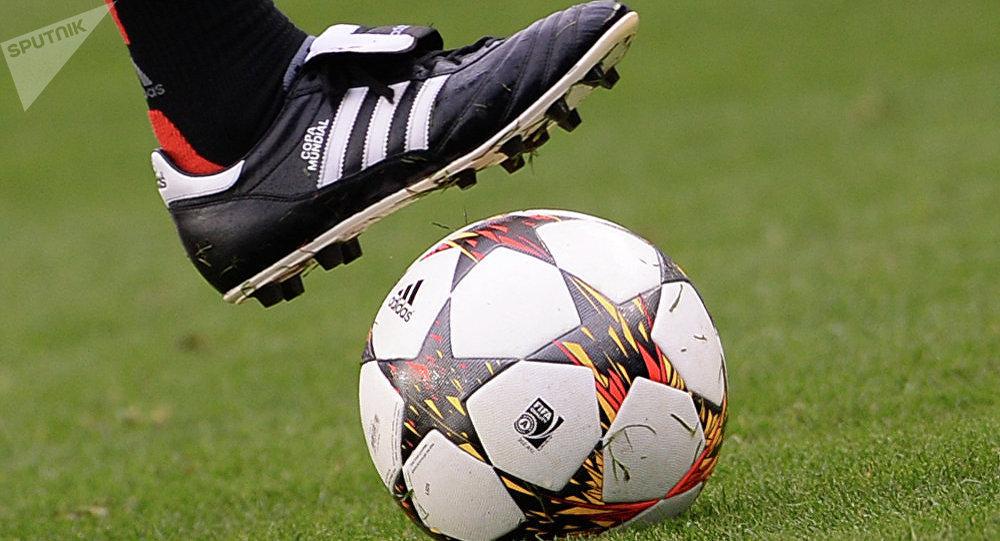 Un footballeur. Image d'illustration