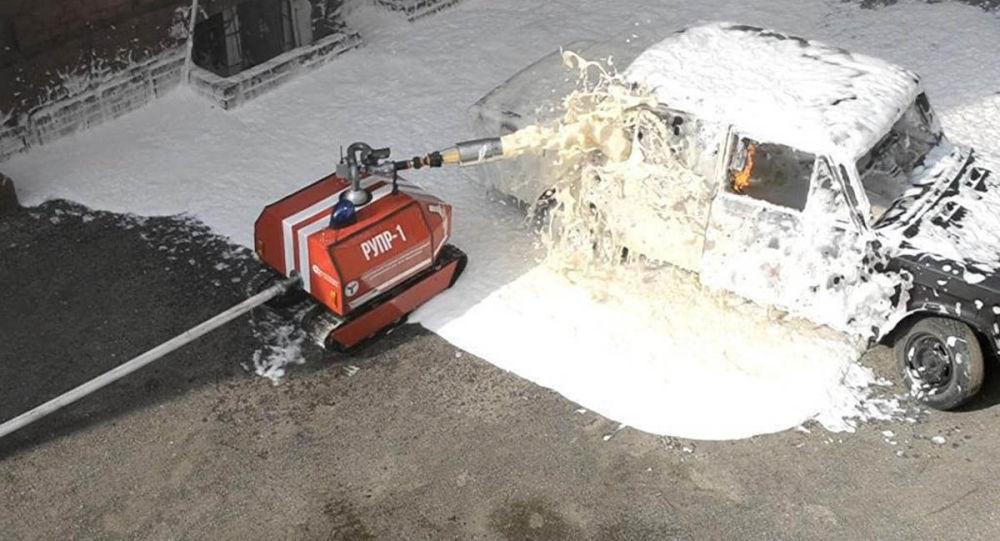 Robot-pompier RUPR-1