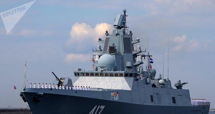La frégate Admiral Gorchkov