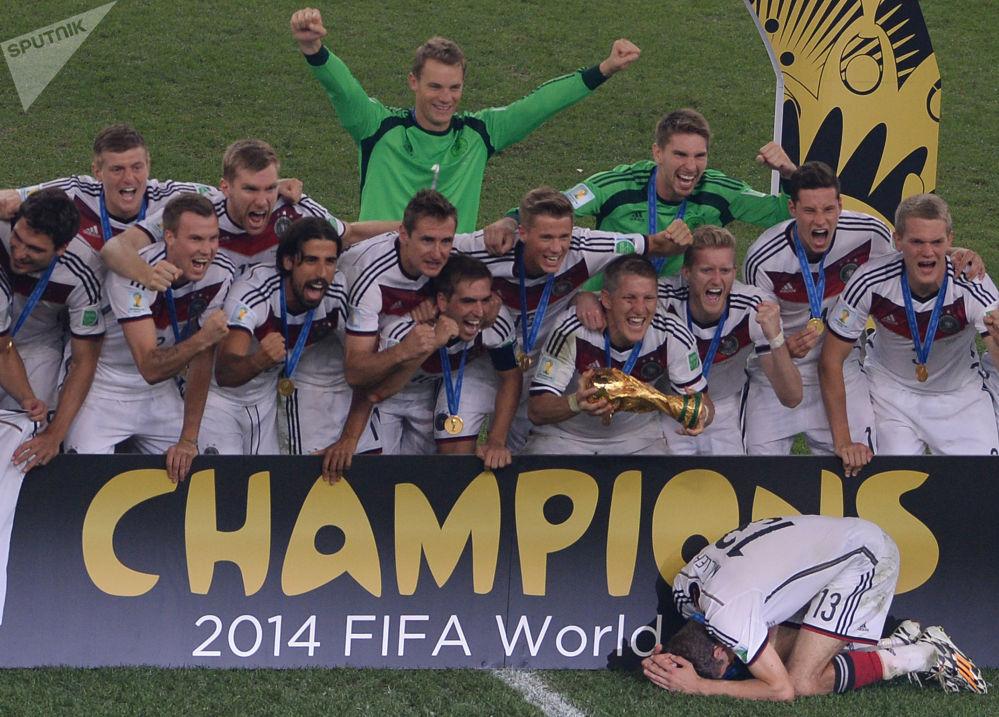 Les pays vainqueurs de la Coupe du Monde de football