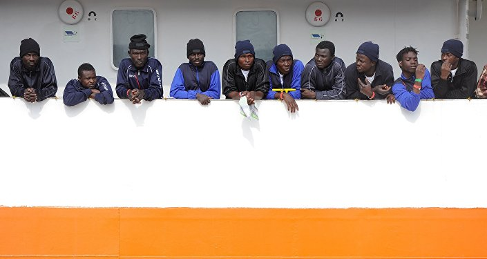 Migrants en Italie