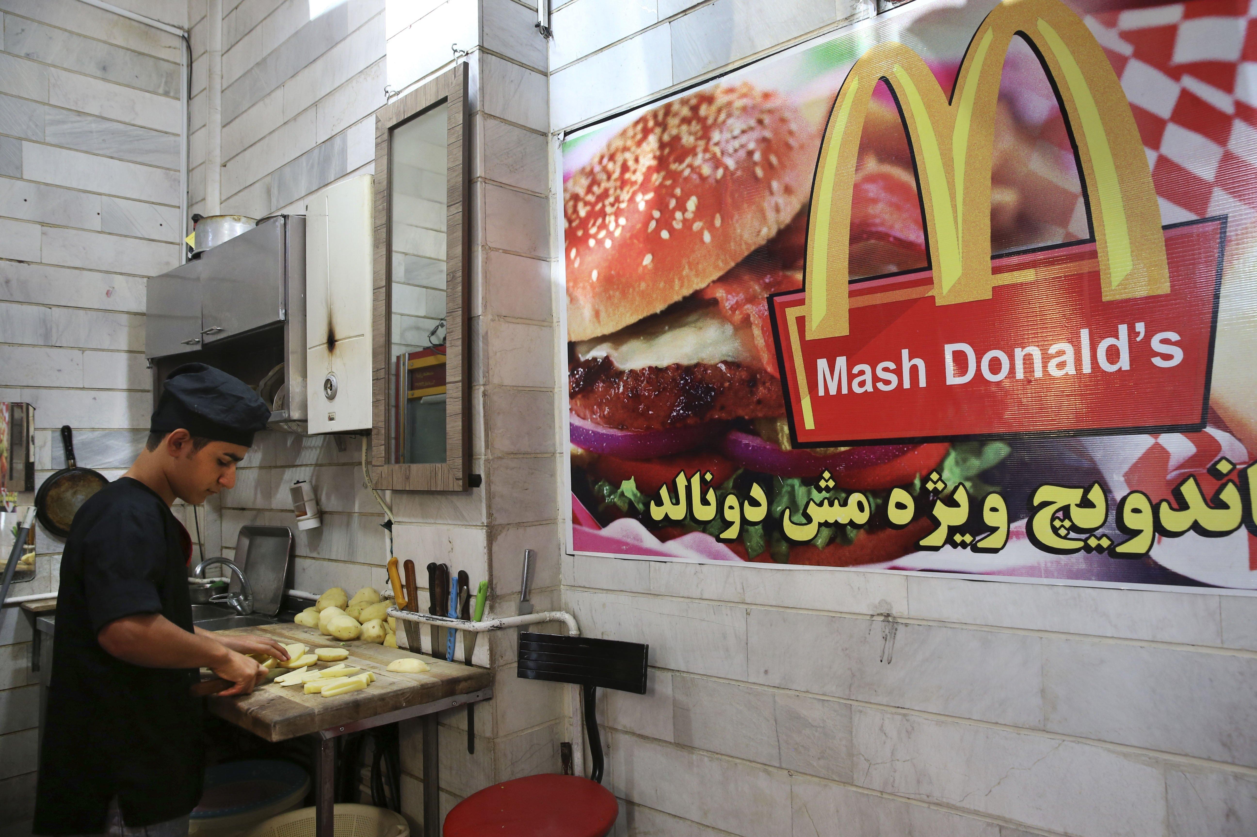 Substitut iranien de McDonald's, Mash Donald's