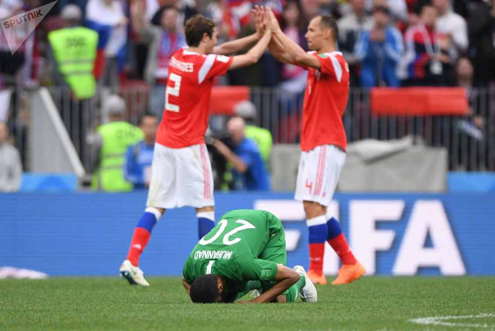 Russie-Arabie saoudite 5:0